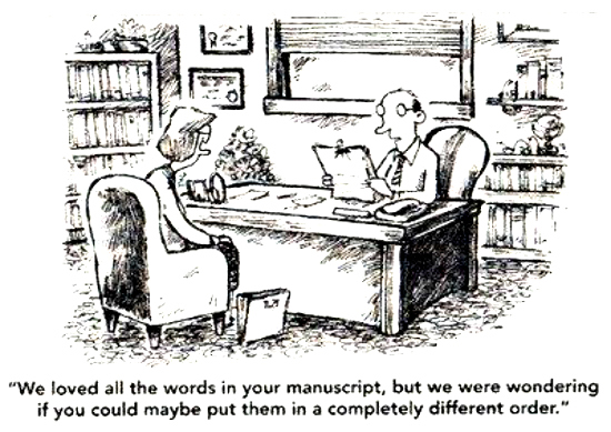 Image result for editing a book cartoon